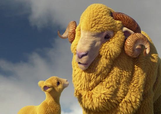 AA Sheep Life Cover