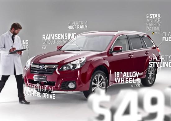 Subaru - Outback TVC