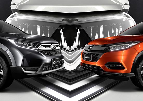 Honda SUV Range 2019