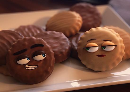 Griffins Peanut Choc